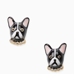 NEW Kate Spade Puppy Dog Stud Earrings